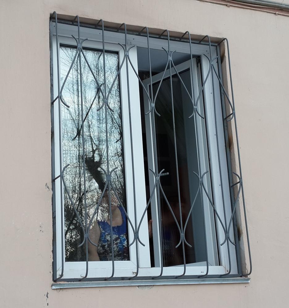 Решетки на окна своими руками фото