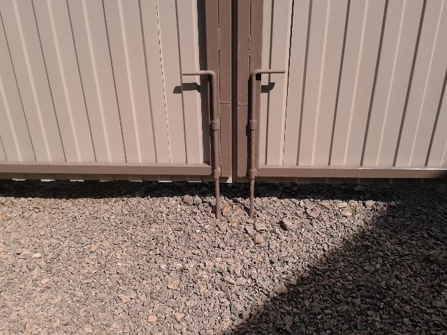 Изготовление железных ворот из профлиста фото качестве