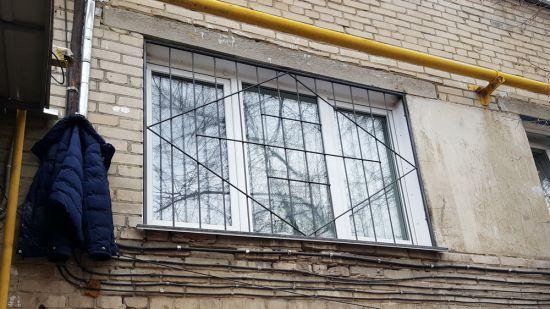 Недорогая решетка на окно | ЧелЗабор