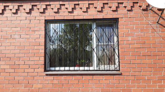 Металлическая решетка на окно - ЧелЗабор