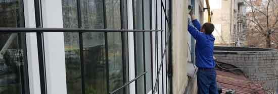 Установка решеток на окна в Челябинске