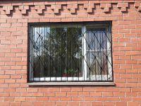 Простая решетка на окно