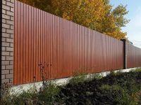 Забор из профнастила на ленточном фундаменте | ЧелЗабор